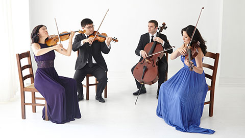 Fortas Chamber Music Concerts: Enso String Quartet with Avi Avital