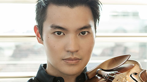 National Symphony Orchestra: Christoph Eschenbach, conductor: Ray Chen, violin, & Adriana Horne, harp, play Bruch / 2 Prokofiev symphonies