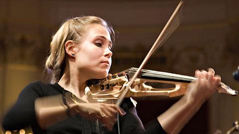 National Symphony Orchestra: Christoph Eschenbach, conductor: Leila Josefowicz, violin, premieres Shepherd / Works by Haydn & Schumann