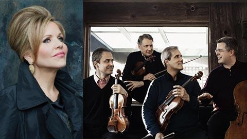 Renée Fleming and the Emerson String Quartet