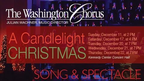 The Washington Chorus presents A Candlelight Christmas