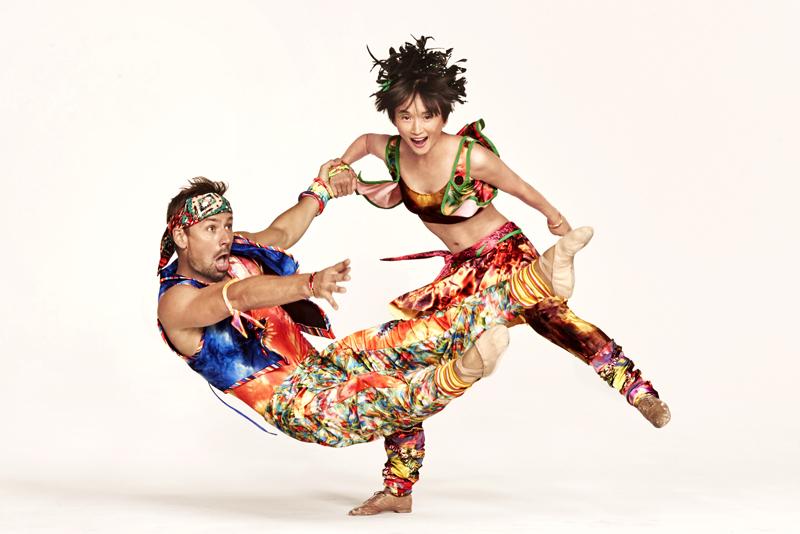 Matthew Dibble and Rika Okamoto in Yowzie