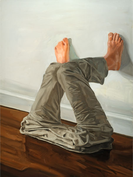Leg Mush, oil on canvas (48 inches x 36 inches)