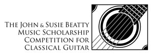 John and Susie Beatty Competition for Classical Guitar