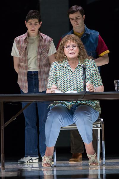 Susan Graham as Mrs. De Rocher in Dead Man Walking. Photo by Scott Suchman.