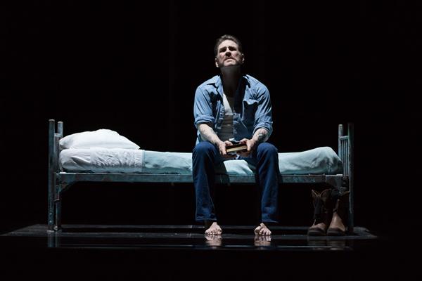 Michael Mayes as Joseph De Rocher in Dead Man Walking. Photo by Scott Suchman.