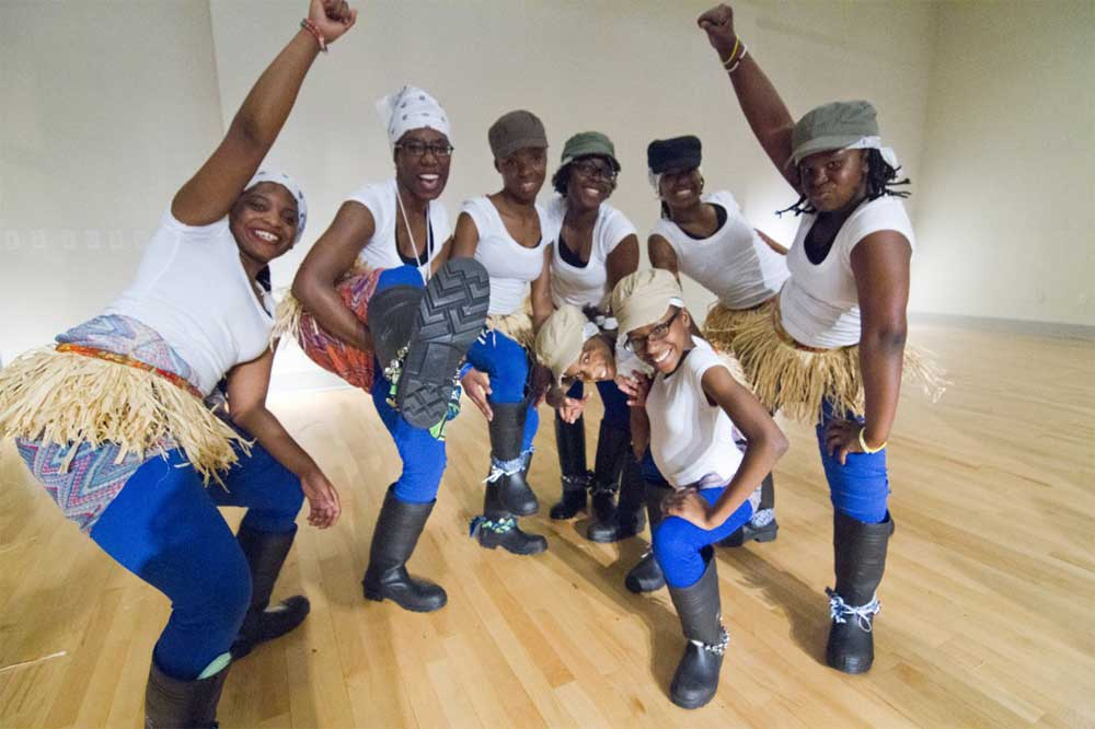 Dance Place Step Team