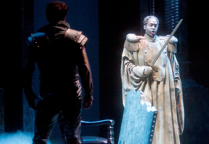 Ildar Abdrazakov and Soloman Howard in Don Giovanni