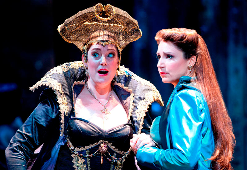 Meagan Miller and Barbara Frittoli in Don Giovanni