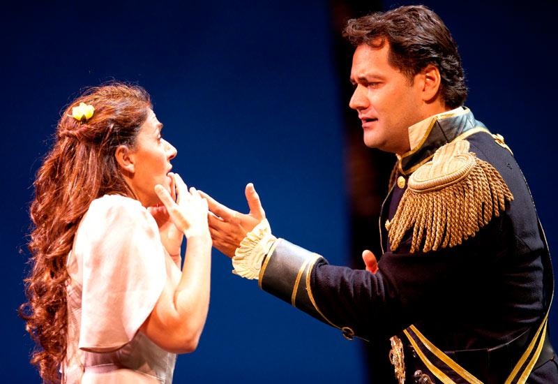 Veronica Cangemi and Ildar Abdrazakov in Don Giovanni