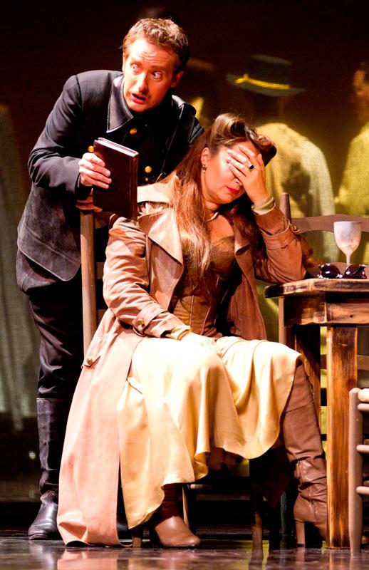 Andrew Foster-Williams and Barbara Frittoli in Don Giovanni
