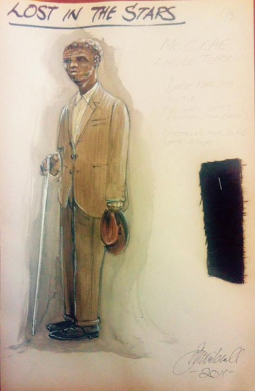 McCrae costume sketch