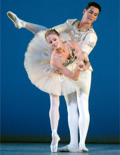 Heather Ogden and Michael Cook in Diamonds.