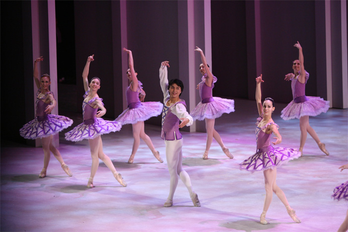 The Suzanne Farrell Ballet performing at Honors 2005.