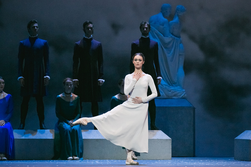 Jurgita Dronina with Artists of the Ballet in The Winter's Tale