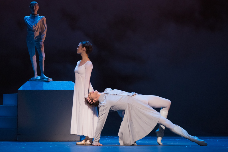 Jurgita Dronina and Evan McKie in The Winter's Tale