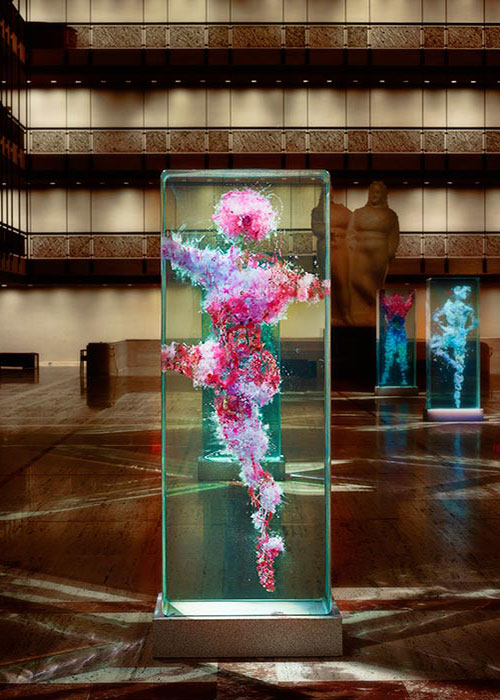 New York City Ballet Installation: Psychogeographies by Dustin Yellin