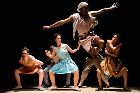 Dorrance Dance with Toshi Reagon and BIGLovely in The Blues Project