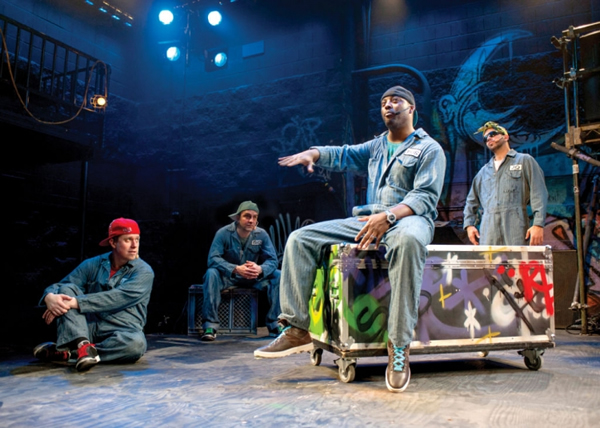 The Q Brothers in Othello: The Remix