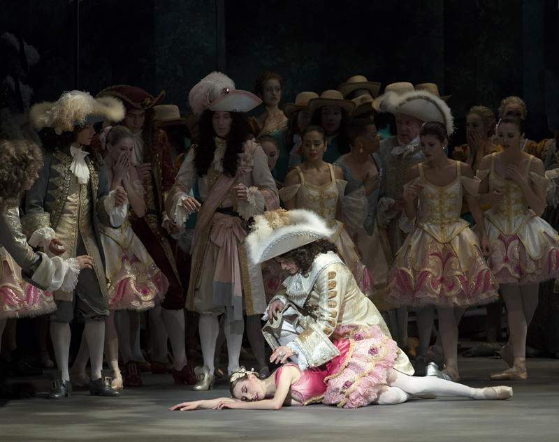 Isabella Boylston as Princess Aurora in The Sleeping Beauty