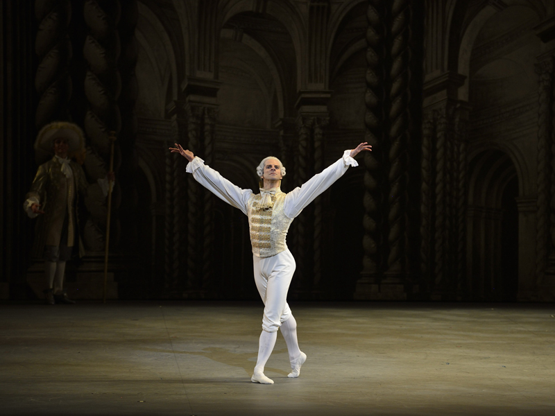 Marcelo Gomes as Prince Désiré in The Sleeping Beauty