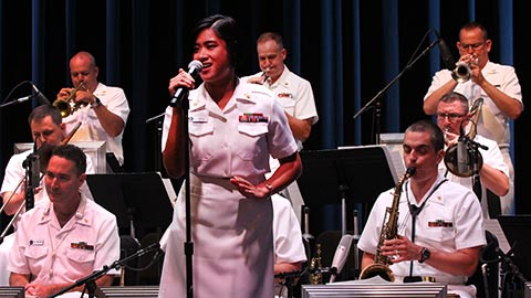 The U.S. Navy Band Commodores