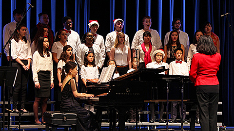 Asian American Music Society's 2015 Competion Winners' Holiday Concert